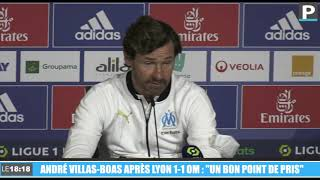 """Lyon-OM : """"Un bon point de pris"""" (Villas-Boas)"""