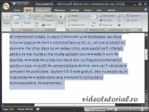 Microsoft office 2007 tutorial cu word 2007