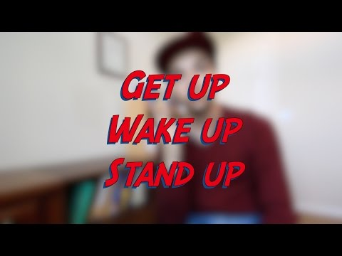 Get up vs. Wake up vs. Stand up - W8D7 - Daily Phrasal Verbs - Learn English online free video