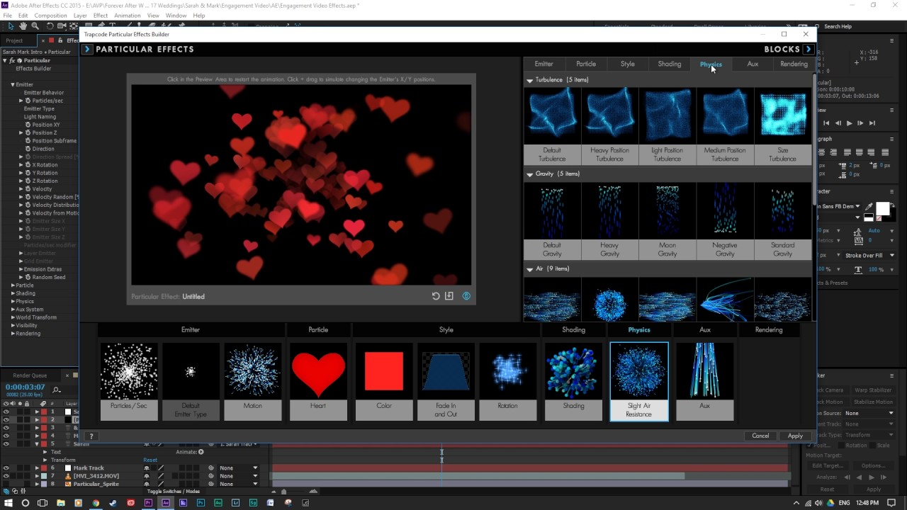 plugin trapcode after effects cc 2015