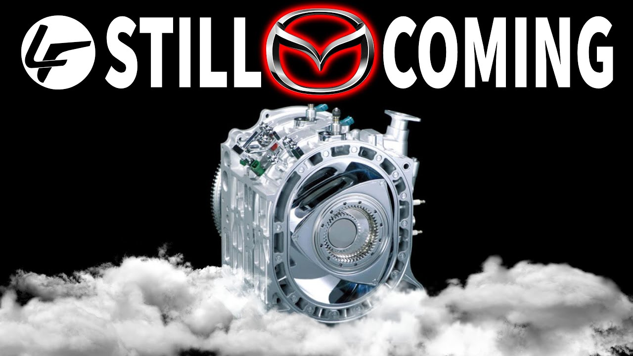 *It's ALIVE*  Mazda's Rotary Engine is BACK on the Menu...