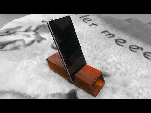 Making Wood Phone Amplifier