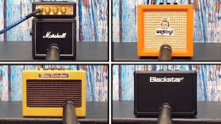 Micro Amp Shootout - Marshall VS Fender VS Orange VS Blackstar
