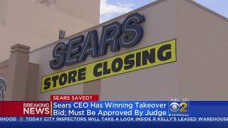 Sears To Stay Open; Chairman's $5.2 Billion Bid Wins Auction