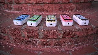 iPhone 5C - Apple iPhone 5c Review & Unboxing! (All Colors)