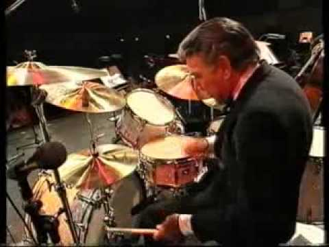 Louie Bellson Big Band  drum solo 1992  Caravan