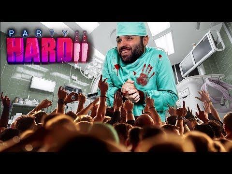 EL HOSPITAL CON RESPAWN DE VÍCTIMAS | PARTY HARD 2 Gameplay Español