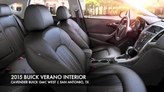 2015 Buick Verano Interior | Cavender Buick GMC West of San Antonio, Texas