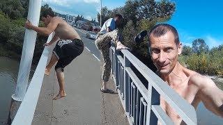 Смертельный Прыжок Краснодарца. Блогер сорвался с моста делая рекламу. Блогеры - опасная работа