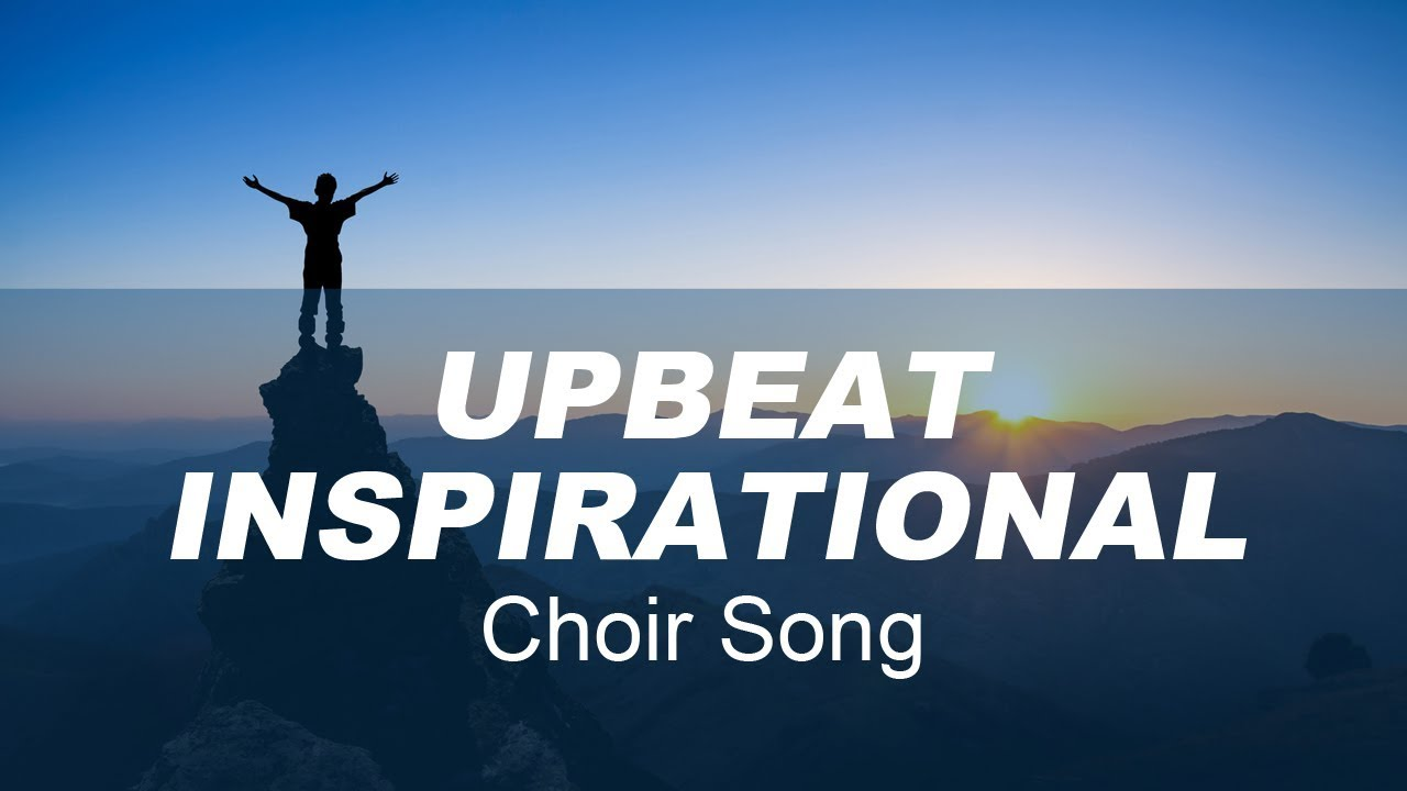 Upbeat inspirational choir song the defining moment by for Upbeat house music