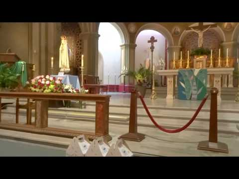 Angels with Lady of Fatima at Mission Dolores SF August 16, 2017