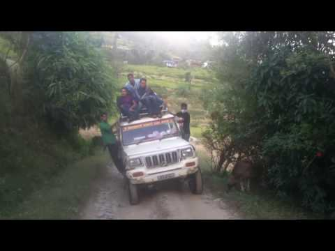 Travelling through most dangerous road(Nepal)