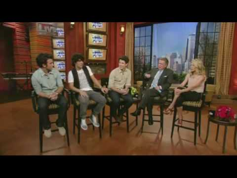 Jonas Brothers Interview On Regis & Kelly Show 07/06/2009- Part 1