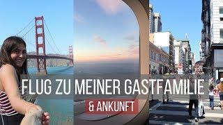 FLUG ZU MEINER GASTFAMILIE+ANKUNFT // MEIN AUSLANDSJAHR 2017/18