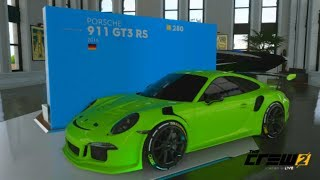 The Crew 2 Pro Settings For Porsche 911 GT3 RS