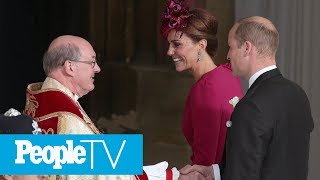 The Royal Family Arrives At Princess Eugenie's Wedding! | PeopleTV