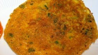 Besan Puda / Spicy Pancake