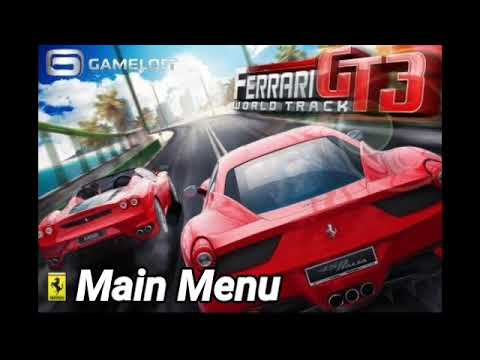 Ferrari Gt 3 World Track Ost Main Menu Android Version Youtube