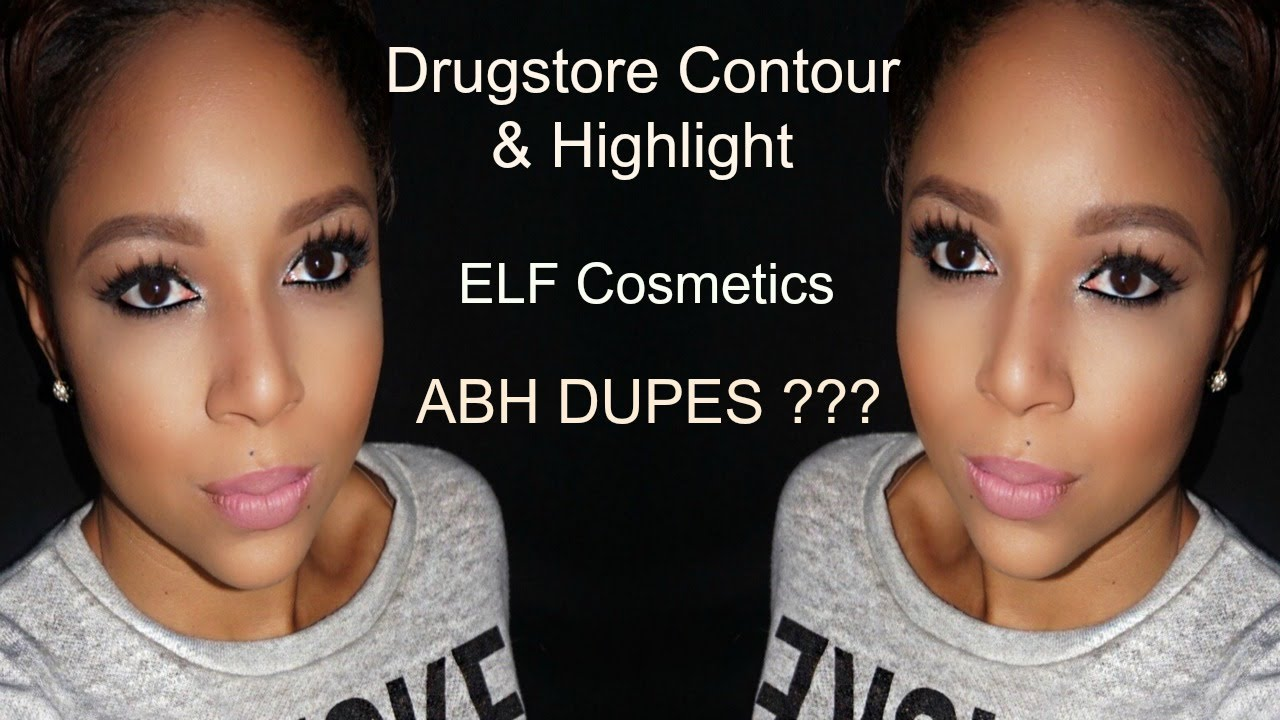 How To Contour And Highlight For Less  Elf Cosmetics  Anastasia Beverly  Hills Dupes ?