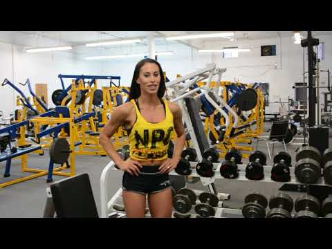 IFBB Bikini Pro Romina Basualdo Shoulder Workout In Prep for the 2018 Arnold Bikini
