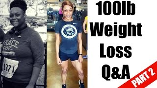 What tools did I use to lose 100lbs? | Weight Loss Q&A Part 2 | @CookieMiller