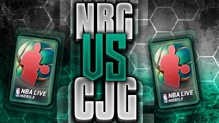 nba live mobile elite global series 1 guess who vs cj gaming insane pull