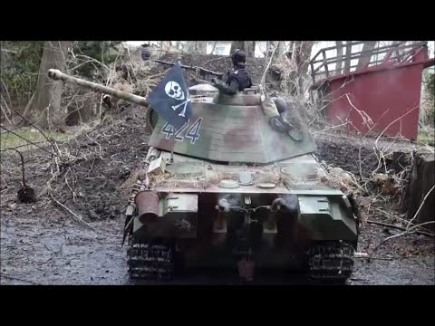 1/6 Scale RC  Panther Tank