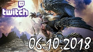 Stream vom 06.10.2018 – Monster Hunter World