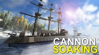 CANNON SOAK RAID - ATLAS (OFFICIAL PVP HSBB) -EP.12