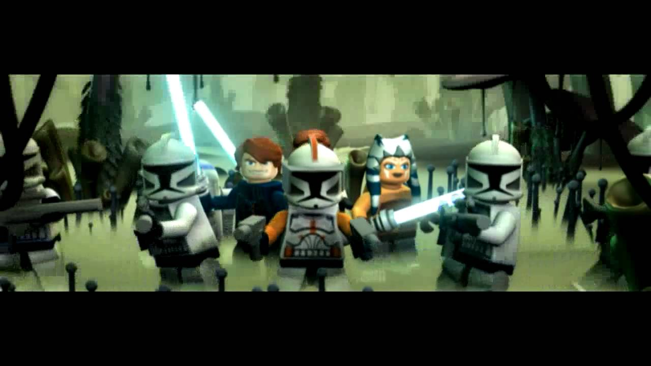 LEGO Star Wars The Clone Wars Animated Comics Part 2  YouTube