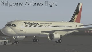 (Roblox timelapse) Flying with Philippine airlines