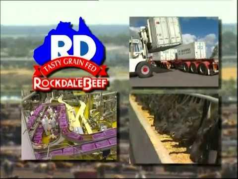 Rockdale Beef Abattoir And Feedlot, Yanco, NSW. Presentation Video In 2004.