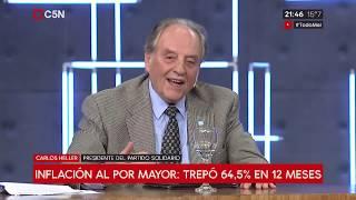 19-03-2019 - Carlos Heller en C5N – Minuto Uno, con Gustavo Sylvestre - Unidad con propuestas