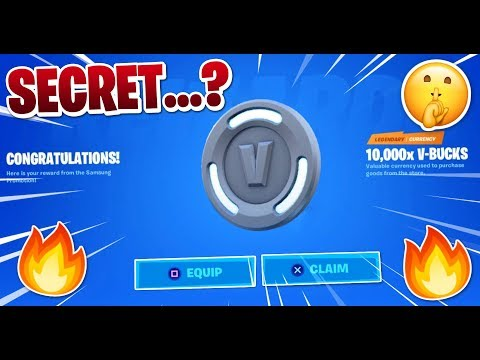 The SECRET V-Bucks Samsung Promotion In Fortnite... ( I NEED YOUR HELP!)