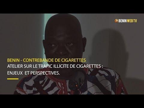 Bénin : l'industrie du tabac lutte contre le trafic illicite de cigarettes
