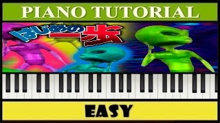 La Cumbia del Marcianito 100 Real% No Fake | Notas Musicales | Piano Fácil Tutorial (Synthesia)