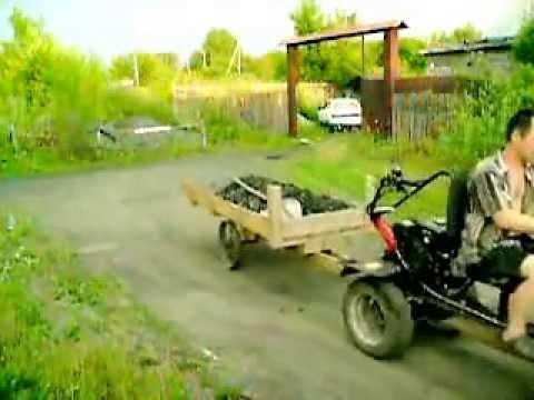 Адаптер-минитрактор для мотоблока Беларус МТЗ (с валом.