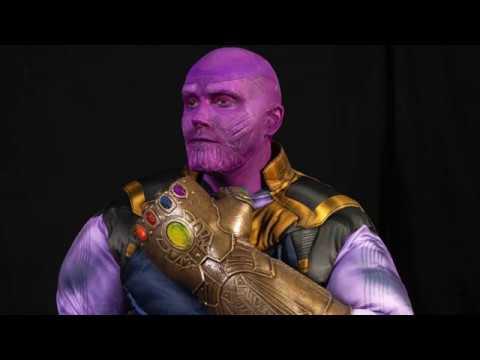 Thanos Infinity War Makeup Tutorial Youtube