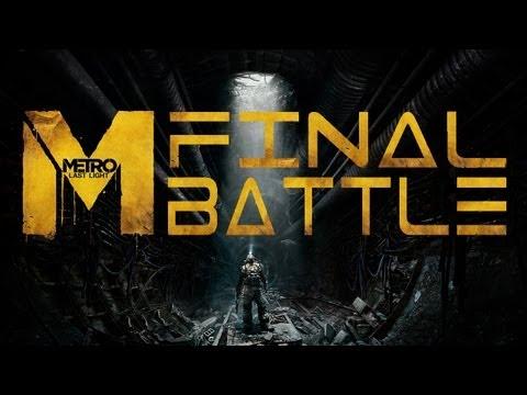 Metro Last Light Ending Final Battle / Final Boss Battle Armored Train Ranger Hardcore Chapter 30 D6