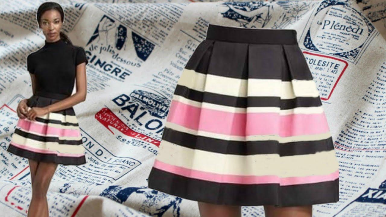 Как шить юбка смотреть