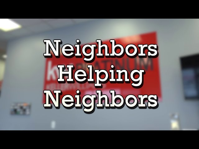 Neighbors Helping Neighbors with Keller Williams Realty