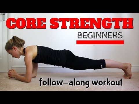 BEGINNERS CORE STRENGTH WORKOUT FOR GYMNASTS AND DANCERS: FOLLOW ALONG TUTORIAL