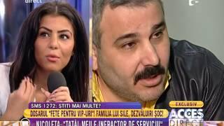 """Nicoleta, fiica lui Sile Cămătaru: """"Tatăl meu e infractor de serviciu"""""""