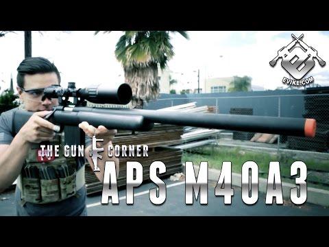 APS M40A3 Sniper Rifle [The Gun Corner] Airsoft Evike.com