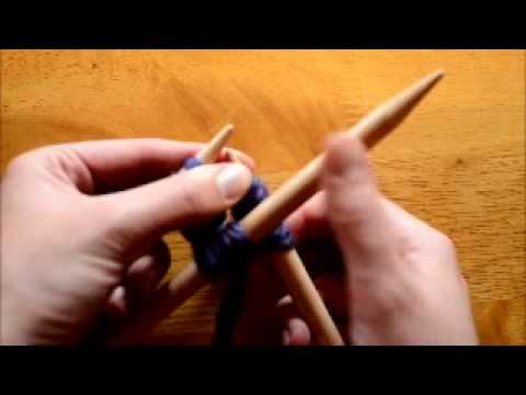 How to Join in the Round on Double Pointed Needles