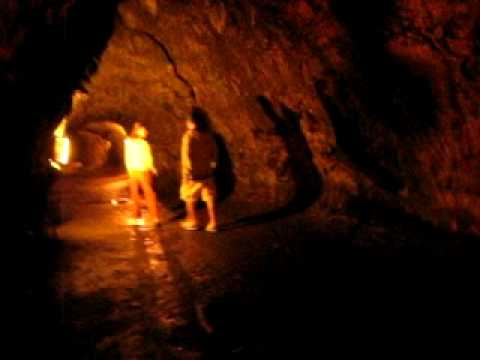 Inside the Thurston Lava Tube, Hawaii