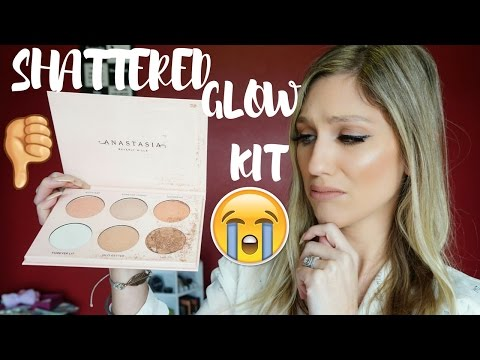 SHATTERED GLOW KIT │ANASTASIA BEVERLY HILLS X NICOLE GUERRIERO GLOW KIT