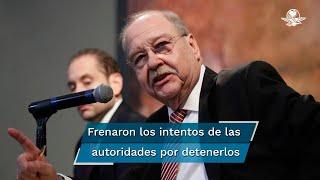 Javier Coello Trejo y su hijo Javier Coello Zuarth consiguieron frenar, por ahora, cualquier intento de las autoridades de detenerlos