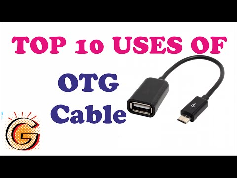 Top 10 uses of OTG Cable - video