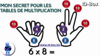 Astuce Math Connaitre Ses Tables De Multiplication Sans Les Apprendre